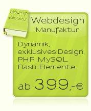 Webdesign so individuell wie Sie